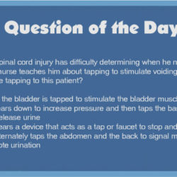 QOD 43: Urinary Incontinence in Spinal Cord Injury Patient (GI/GU/Basic Care and Comfort)